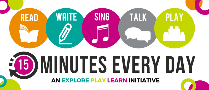 15 Minutes Every Day literacy initiative